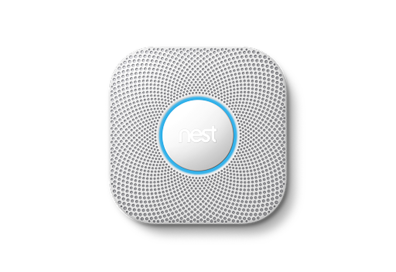 Smoke/Carbon Monoxide Wired Alarm-Nest Labs